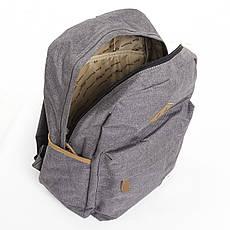 Рюкзак студенческий Star Dragon серый 2 отделения 28х42х16 ткань Полиэстр  кс720сер, фото 3