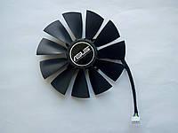 Вентилятор №90 (кулер) для видеокарты ASUS STRIX T129215SU FD10015H12S FD9015U12S RX 470 570 580 R9 280 380