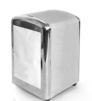 Серветки д/диспенсера 17х17см 2000шт. 1слой білі