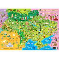 Детская Карта Украины А1, Зірка, 92804