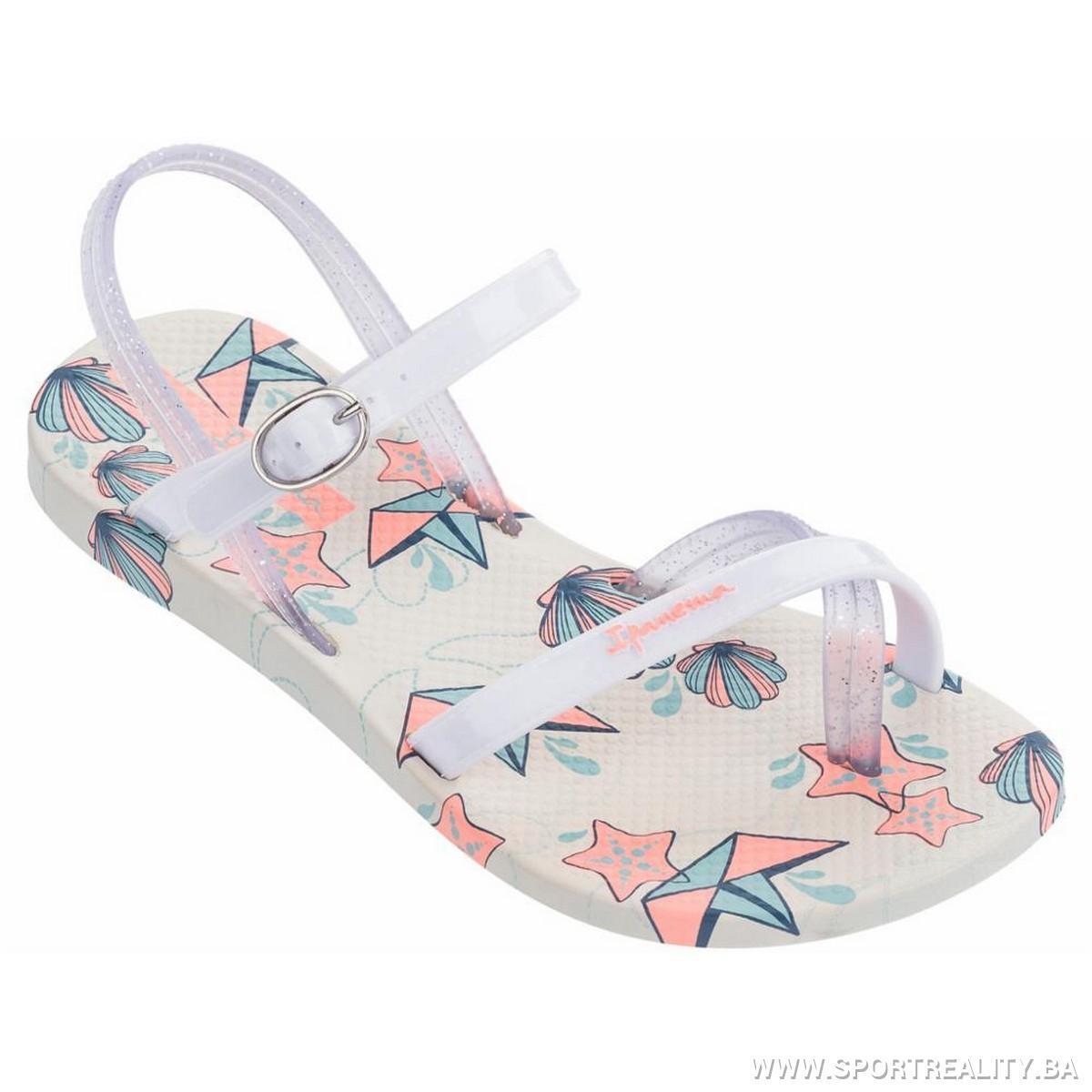 Оригинал Сандалии Детские для девочки 82292-21010 Ipanema Fashion Sandal V Kids Baige/White