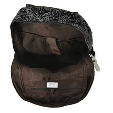 Рюкзак молодёжный KAUKO & BAG  30х44х16 чёрный, материал брезент, фото 3