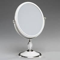 Косметическое настольное увеличительное зеркало