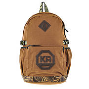 Рюкзак молодёжный KAUKO 29х46х17 коричневый, материал брезент ксФП65кор