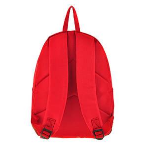 Рюкзак Wallaby городской 29 х 35 х 15 красный полиестр на ПВХ основе, фото 2