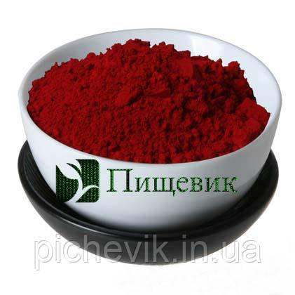 Краситель Кармоизин (красный) Е-122 (Индия) вес:1 кг