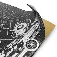 Вібродемпфуючий самоклеючий лист PRACTIK 1,3 мм (470х750мм)
