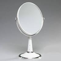Косметическое настольное-овальное зеркало.