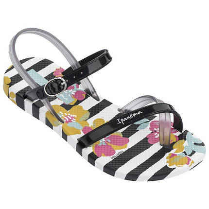 Оригинал Сандалии Детские для девочки 82292-22504 Ipanema Fashion Sandal V Kids White/Black, фото 2