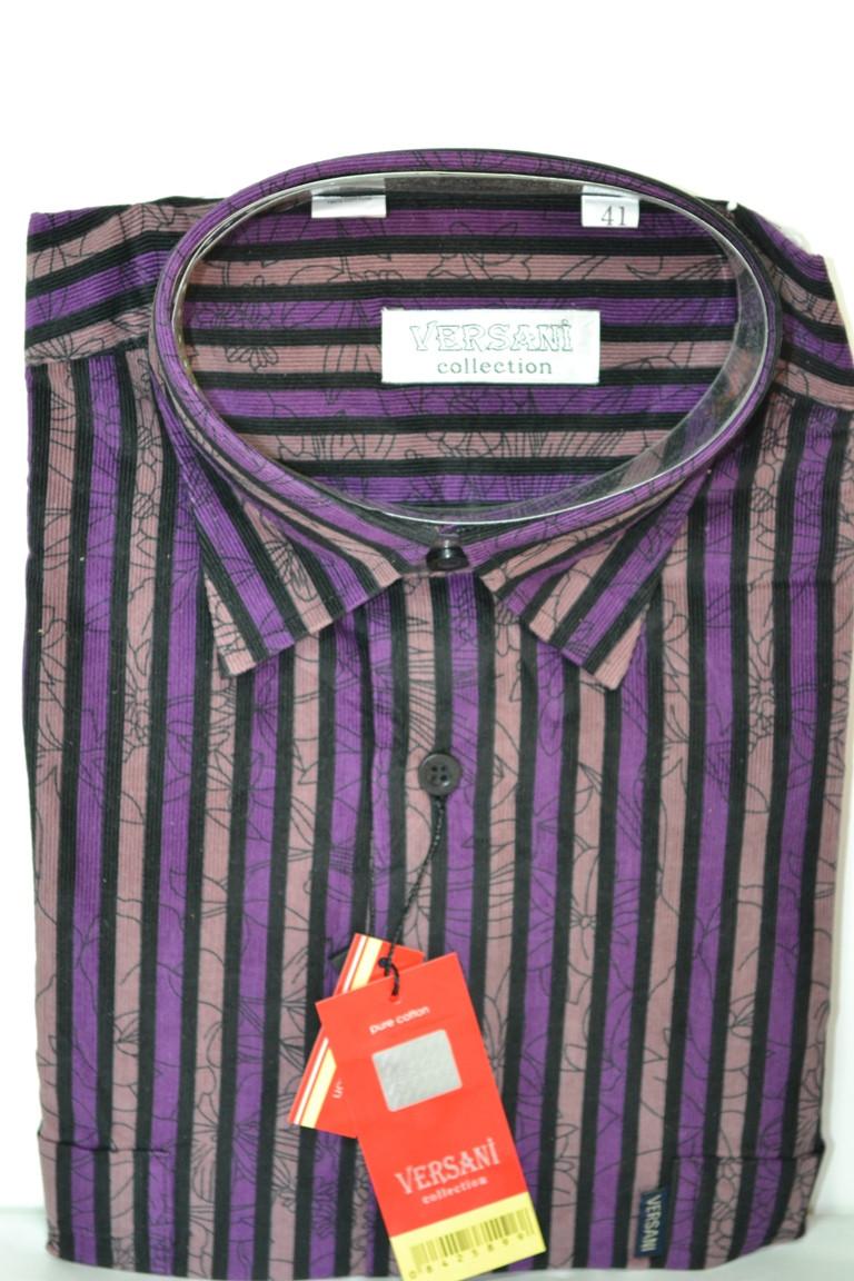 Вельветовая мужская рубашка (размеры 40.41.42)