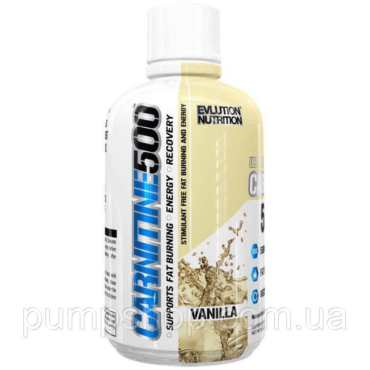 Л-карнітин Evlution Nutrition Carnitine 500 465 мл ( 93 порц.)