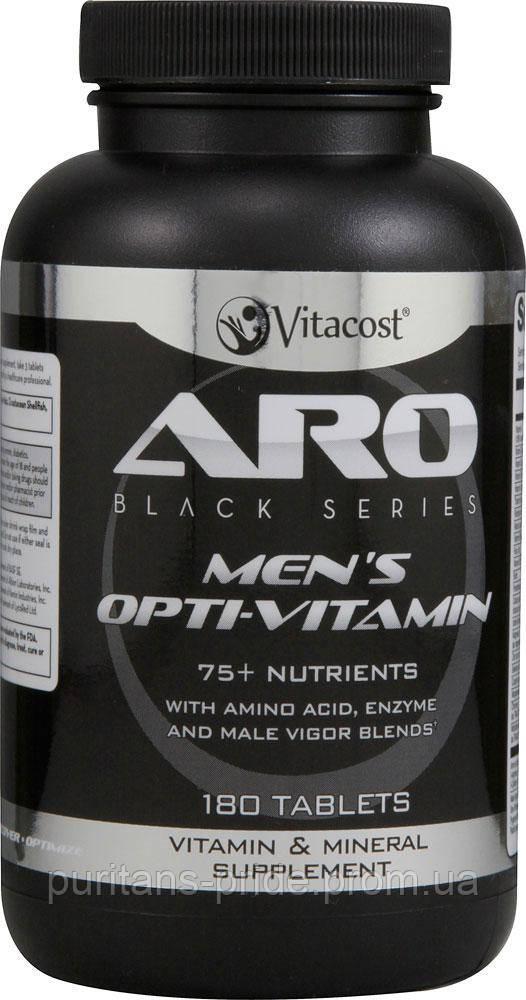 ARO-Vitacost men's Opti-Vitamin -- 180 Tablets аналог(Optimena)