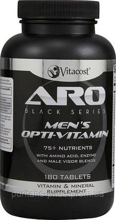 ARO-Vitacost men's Opti-Vitamin -- 180 Tablets аналог(Optimena), фото 2