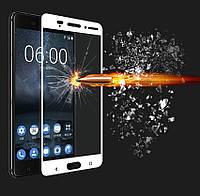 3D защитное стекло для Nokia 3 (на весь экран)