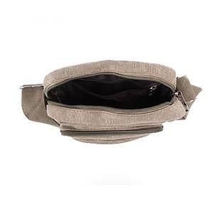 Чоловіча сумка вертикальна HONGYUNDA 18х23х9 матеріал брезент ксФ1518х, фото 2