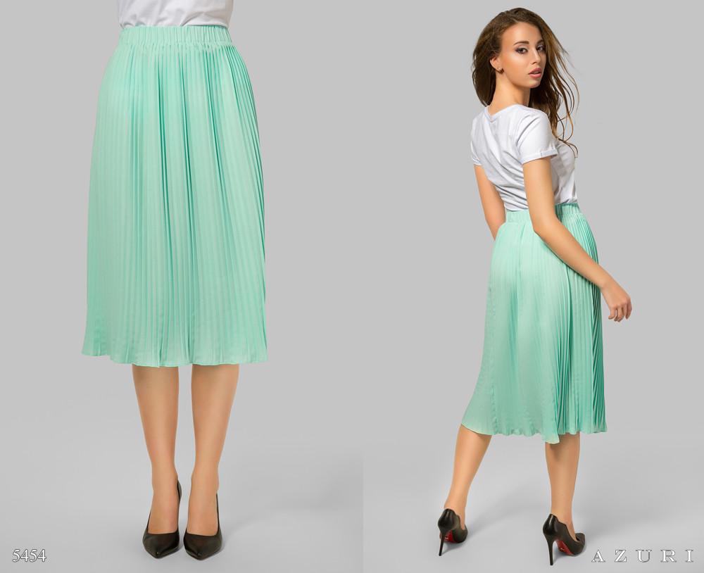 0d4313a9020 Летняя плиссированная юбка миди. 3 цвета - Интернет-магазин