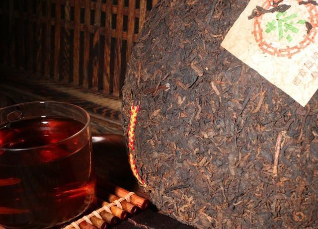 """Черный чай шу пуэр """"Зеленая печать"""""""