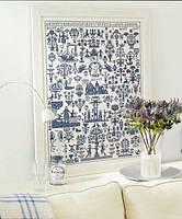 """Набор для вышивания """"Anno 1830 Sampler blue"""" PERMIN"""