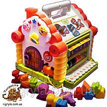 Теремок - игрушка развивающая сортер, фото 2