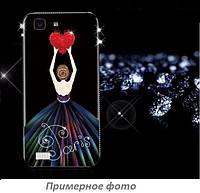 TPU чехол Magic Girl со стразами для Samsung G955 Galaxy S8 Plus