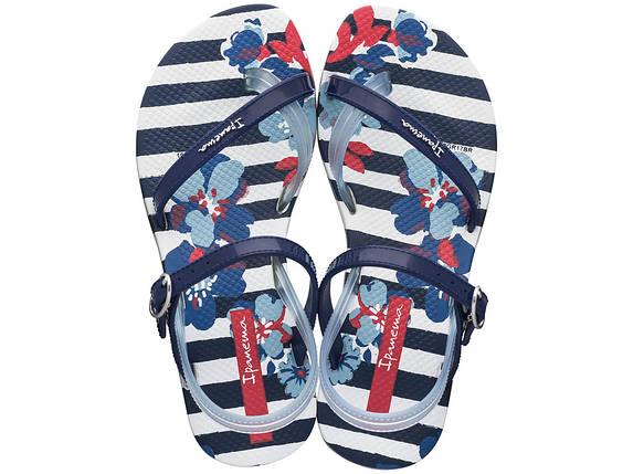 Оригинал Сандалии Детские для девочки 82292-22503 Ipanema Fashion Sandal V Kids Blue/White, фото 2
