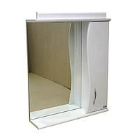 Зеркало АкваСан с подсветкой 70 см Белое, фото 1