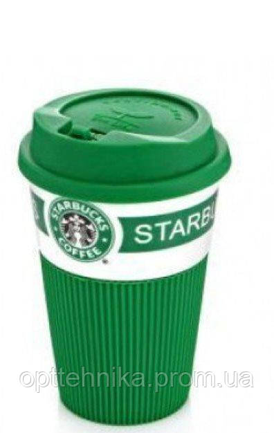 Керамический стакан (чашка) Starbucks, Термо стакан, кружка (старбакс)