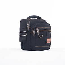 Мужская сумка GOLD BE горизонтальная, 19х17х12 материал брезент ксС555ч, фото 2