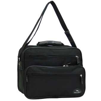 Мужская сумка Wallaby 30х24х14 нейлон 600 Д, резиновая ручка в 2411