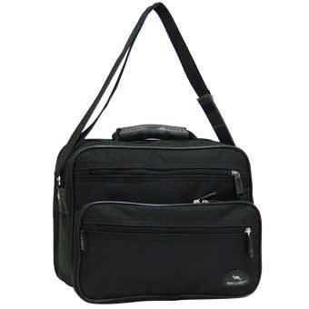 Мужская сумка Wallaby 30х24х14 нейлон 600 Д, резиновая ручка в 2411, фото 2