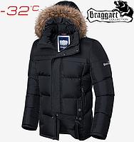 Куртка зимняя мужская Braggart Dress Code - 1446#1445 черный, фото 1