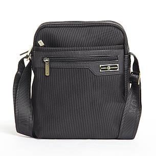 Мужская сумка BAOHUA вертикальная, 21х26х8  ткань Оксфорд ксВН8159-8,75ч, фото 2