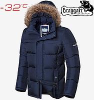 Мужские зимние куртки Braggart Dress Code - 1446#1445 синий, фото 1