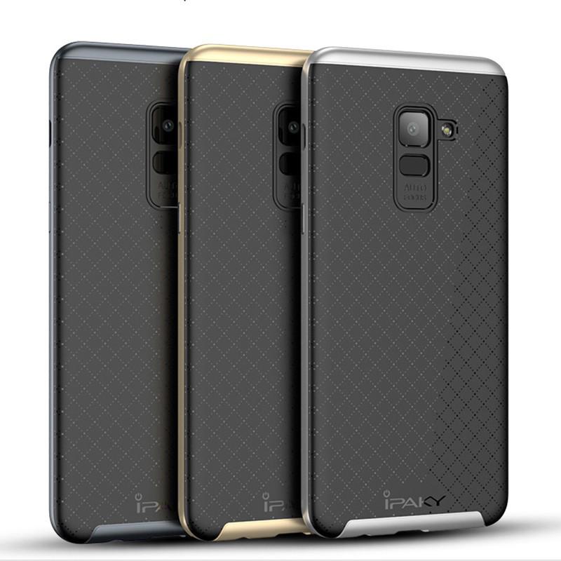 Чехол iPaky TPU+PC для Samsung A730 Galaxy A8+ (2018)
