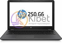 Ноутбук 15' HP 250 G6 (3QM17ES) Dark Ash, 15.6', матовый LED (1366х768), Intel Core i3-6006U 2.0 GHz, RAM 4Gb, SSD 256Gb, Intel HD Graphics 520,
