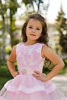 "Дитяче ошатне плаття напрокат. Модель ""Ельза"", зріст 134-140"