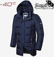 Куртки зимние мужские Braggart Dress Code - 1827#1826 синий, фото 1