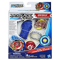 Бейблейд Спрайзен С2 Эволюция светящийся с пусковым устройством Spryzen S2 Оригинал Hasbro