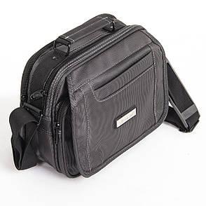 Мужская сумка Jia Jun 26х21х12 горизонтальная, ткань Полиэстр ксЖ802, фото 2