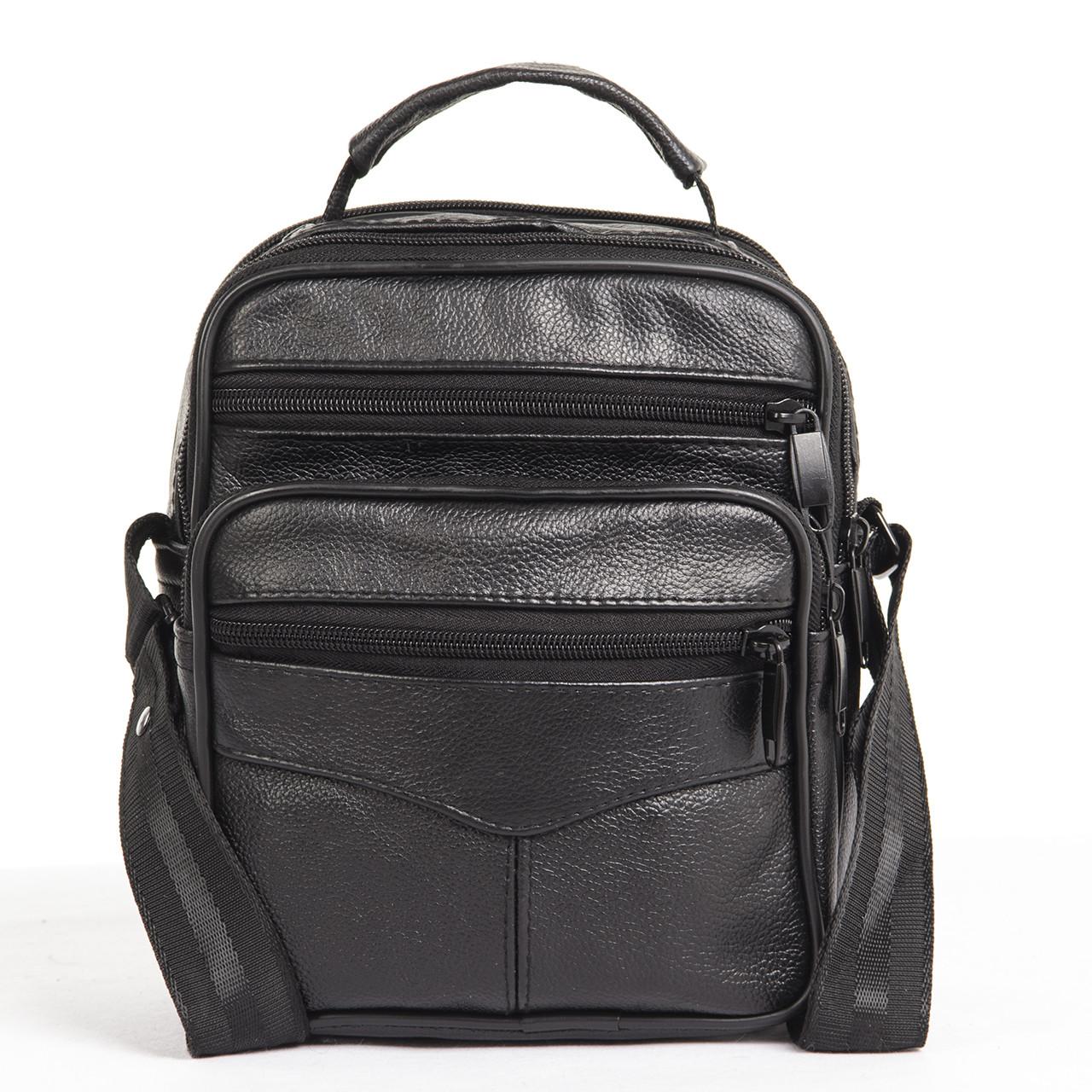Мужская сумка BagHouse 21х18х12 вертикальная кожаная кс0516-2