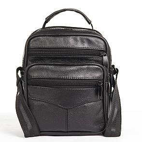 Мужская сумка BagHouse 21х18х12 вертикальная кожаная кс0516-2, фото 2