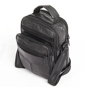 Мужская сумка BagHouse 21х18х12 вертикальная, комбинированная кс0516-2, фото 2