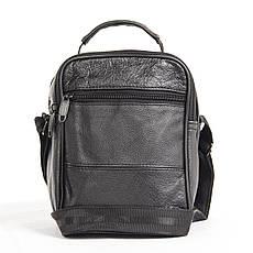 Мужская сумка BagHouse 21х18х12 вертикальная, комбинированная кс0516-2, фото 3