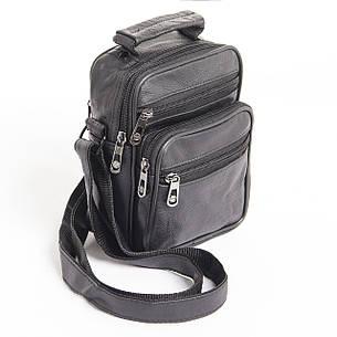 Мужская сумка BagHouse 14х18х10 вертикальная, кожа кс0418, фото 2