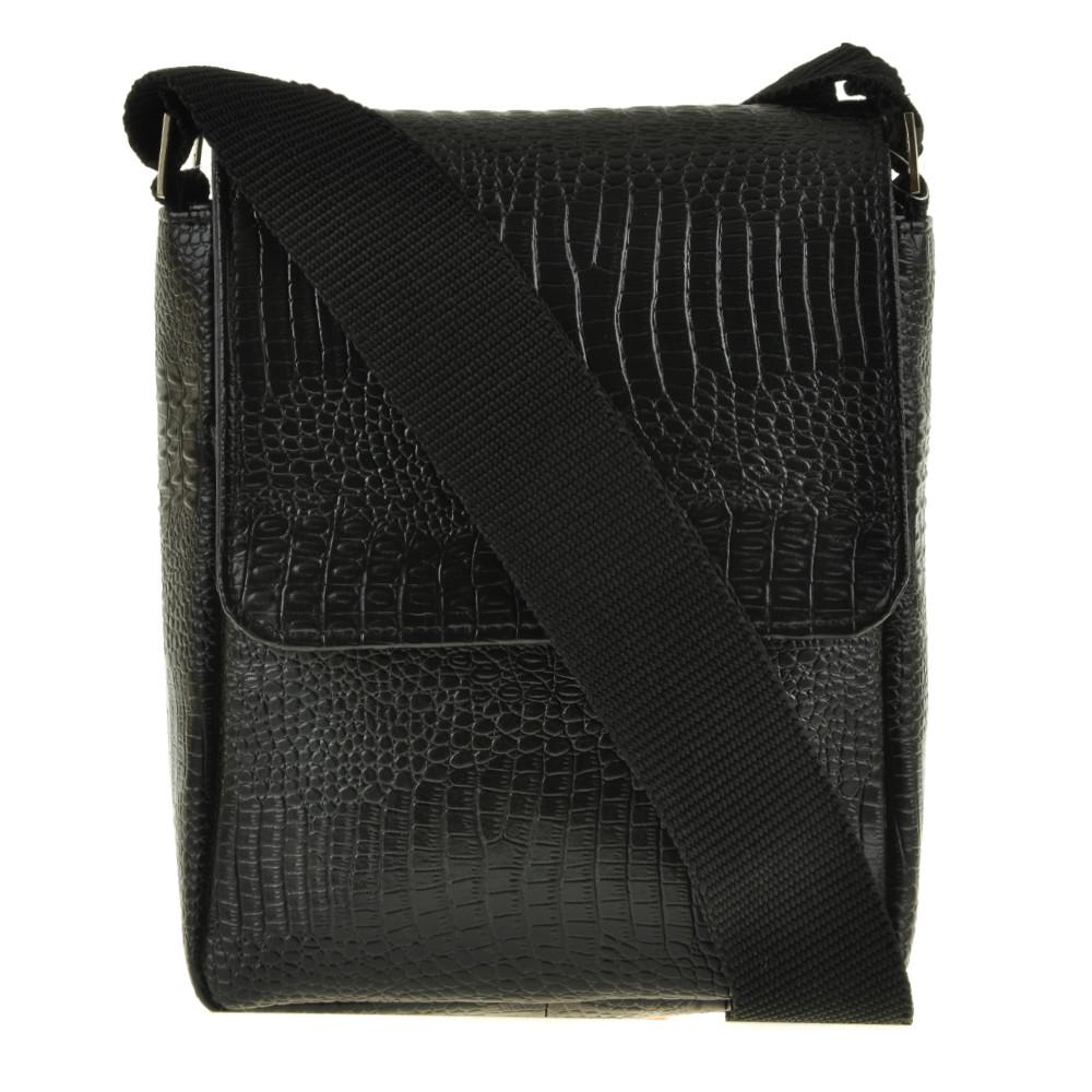 Мужская кожаная сумка BagHouse 25х34х9 вертикальная хк65