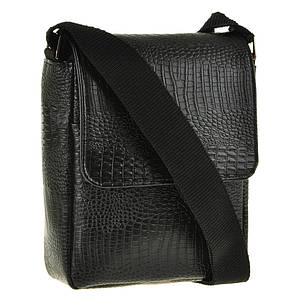 Мужская кожаная сумка BagHouse 25х34х9 вертикальная хк65, фото 2