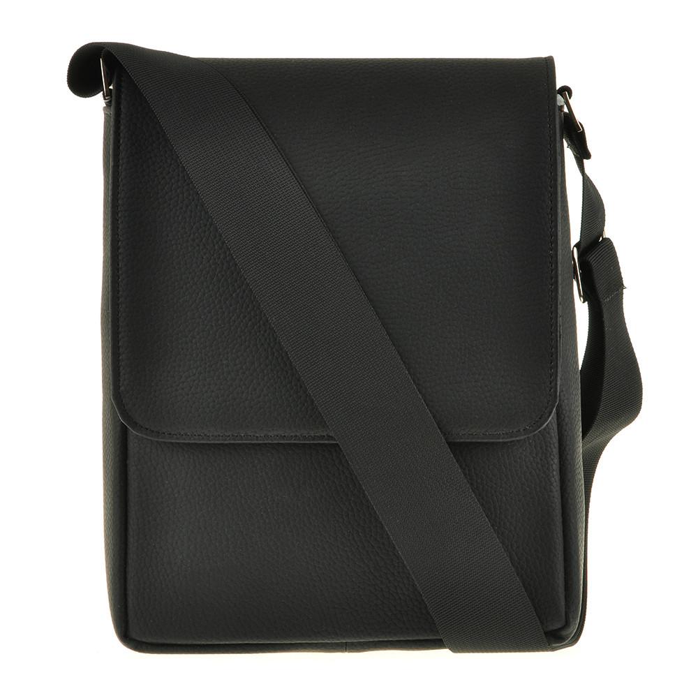 Мужская сумка из натуральной кожи BagHouse 25х20х7 вертикальная  хк52стр