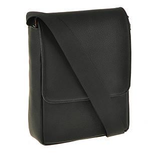 Мужская сумка из натуральной кожи BagHouse 25х20х7 вертикальная  хк52стр, фото 2