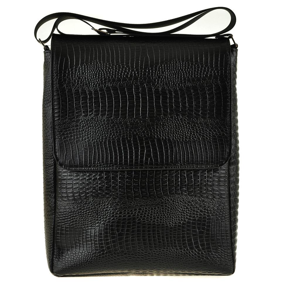 Мужская кожаная сумка BagHouse 21х16х6 вертикальная хк56стр