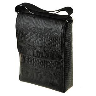Мужская кожаная сумка BagHouse 21х16х6 вертикальная хк56стр, фото 2